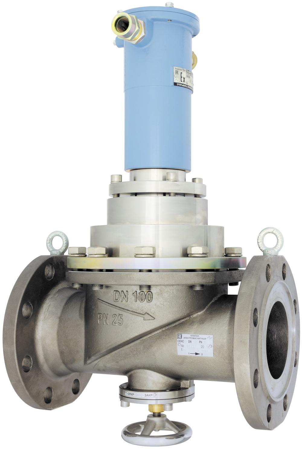 Клапан СЕНС DN100 PN25-24B